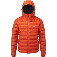 Rab Microlight Summit Kaz Tüyü Kapüşonlu Bayan Ceket XL Kırmızı