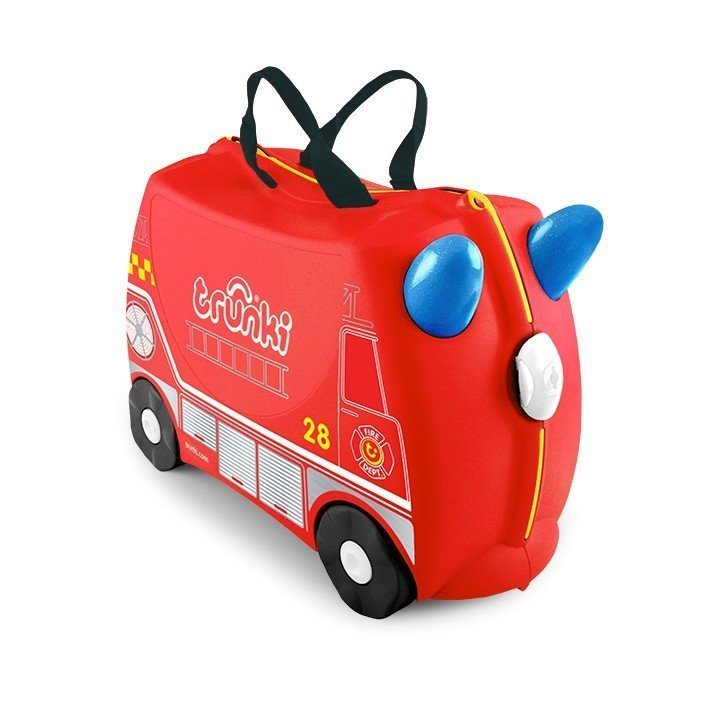 1a9a0d2850bed Trunki Çocuk Bavulu (Valiz) - İtfaiye Aracı Frank | Brainbox.com.tr