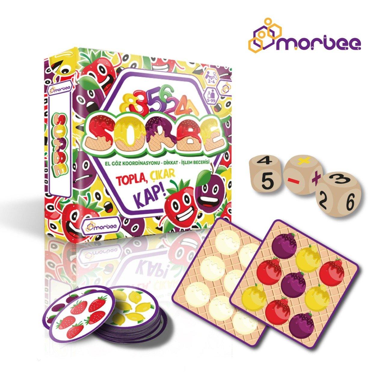 Morbee Sorbe 5 99 Yas Kutu Akil Oyunu Brainbox Com Tr