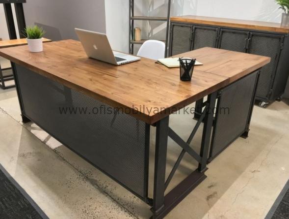 Kütük Ofis Masası