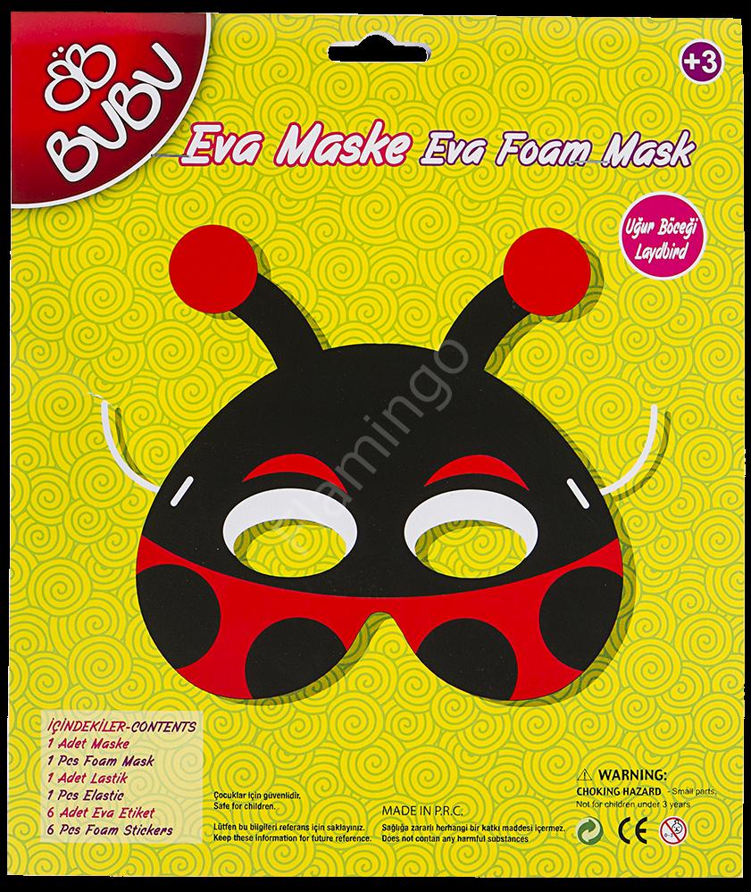 Bu Bu Eva Uğur Böceği Maske Hobi Setleri Bu Bu Eva Uğur Böceği Maske