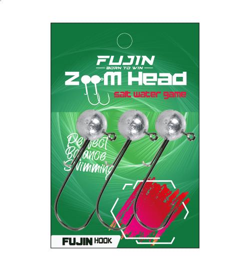 Fujin Zoom Head 2/0 Jighead