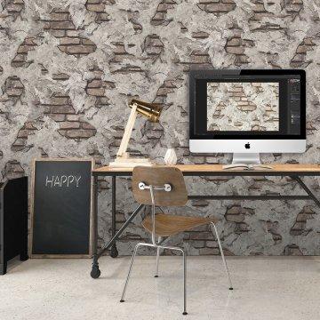 Duka Inception duvar kağıdı DK-71151-5-Taş modelli duvar kağıdı