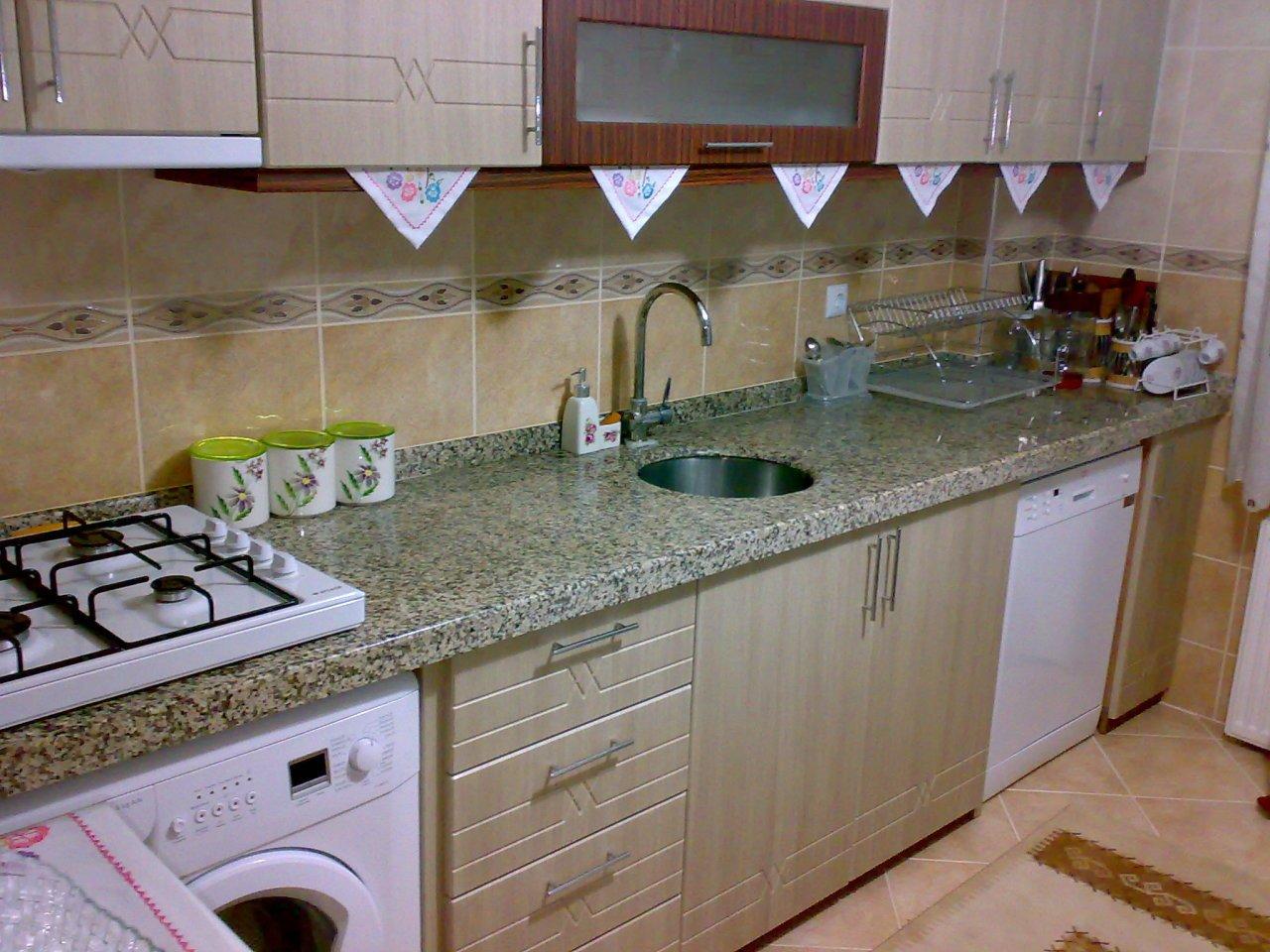 Mutfak Tezgahı mutfak tezgahı crema perla doğal granit - kolayyapi