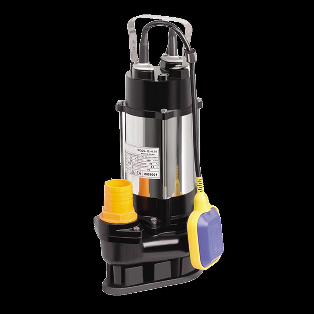 Duffmart V1100F-A Pis Su Foseptik Parçalayıcılı Açık Fanlı Dalgıç Pompa