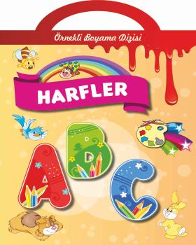 Harfler Ornekli Boyama 5 Yas