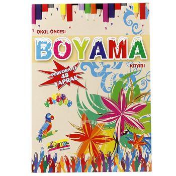 Okul Oncesi Boyama Kitabi