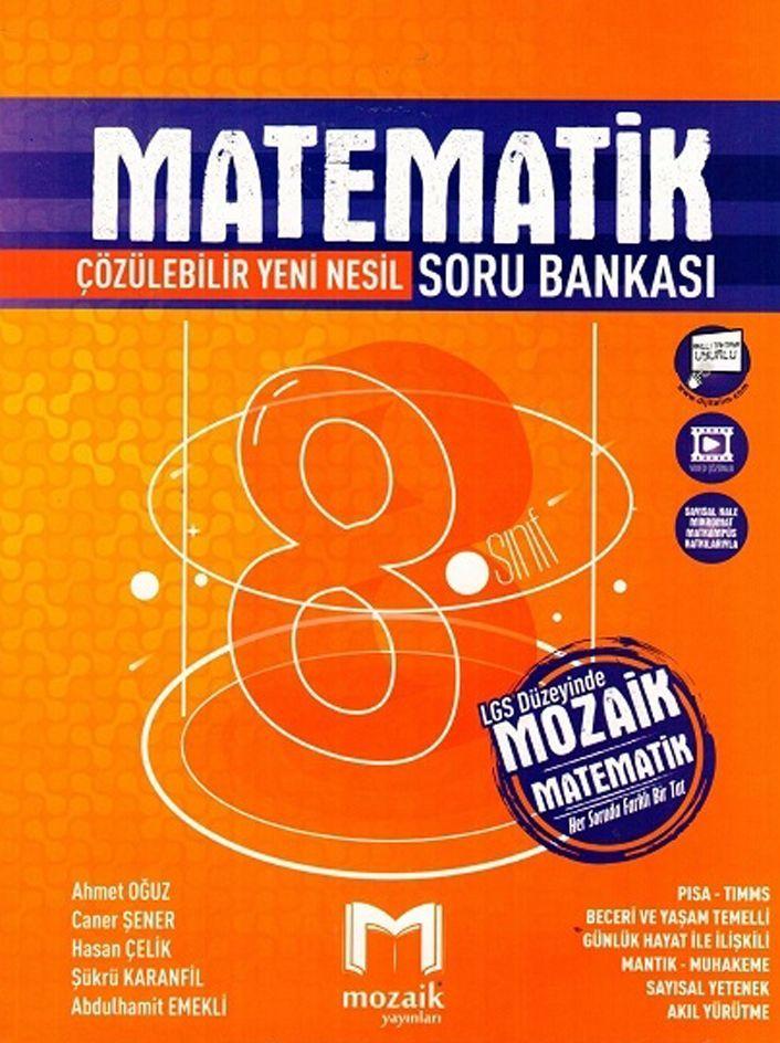 8 Sinif Matematik Cozumlu Soru Bankasi Mozaik Yayinlari Mozaik