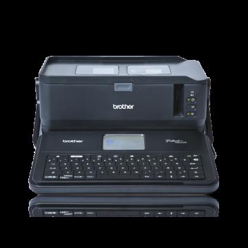 Pt e850tkwli 6 36mm etiket yaz c for Brother label printer templates