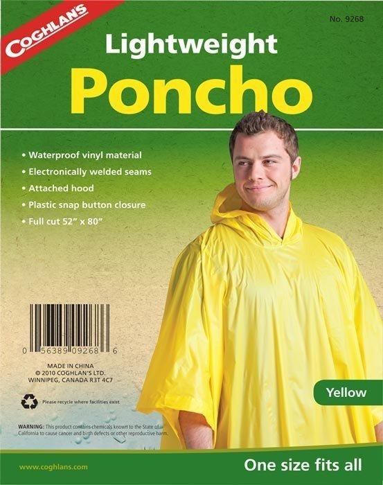 Coghlans Yağmurluk Panço (Sarı)