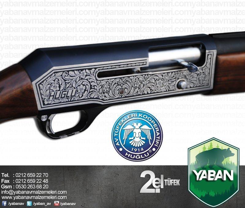 Huğlu 401 A 12 Cal Yari Otomatik Av Tüfeği