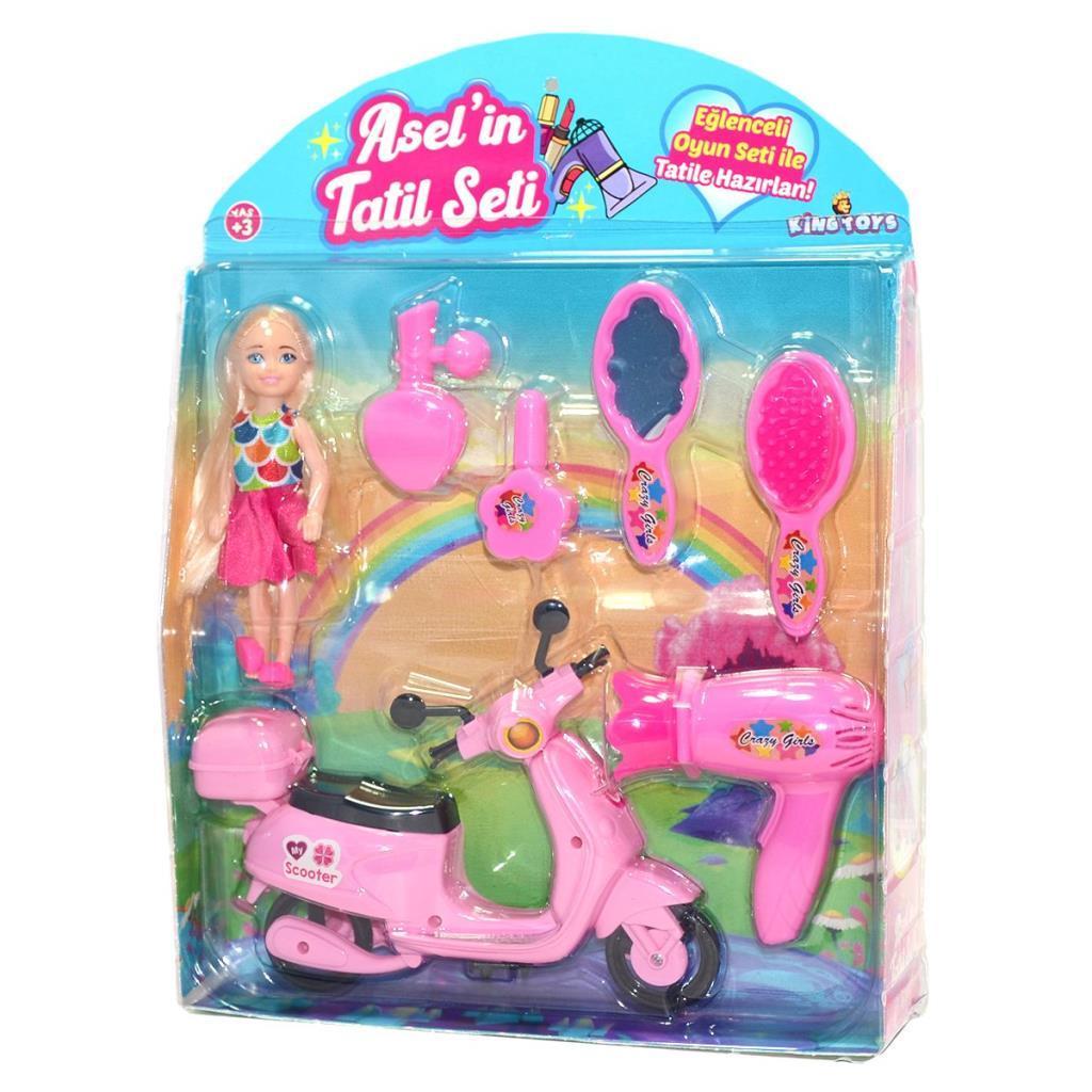 ASL-1030 King Toys, Asel'in Tatil Seti ve Scooterı