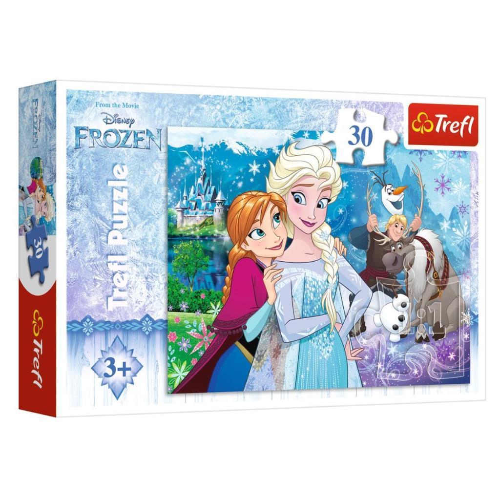18225 Trefl, Frozen Unleash The Magic 30 Parça Puzzle