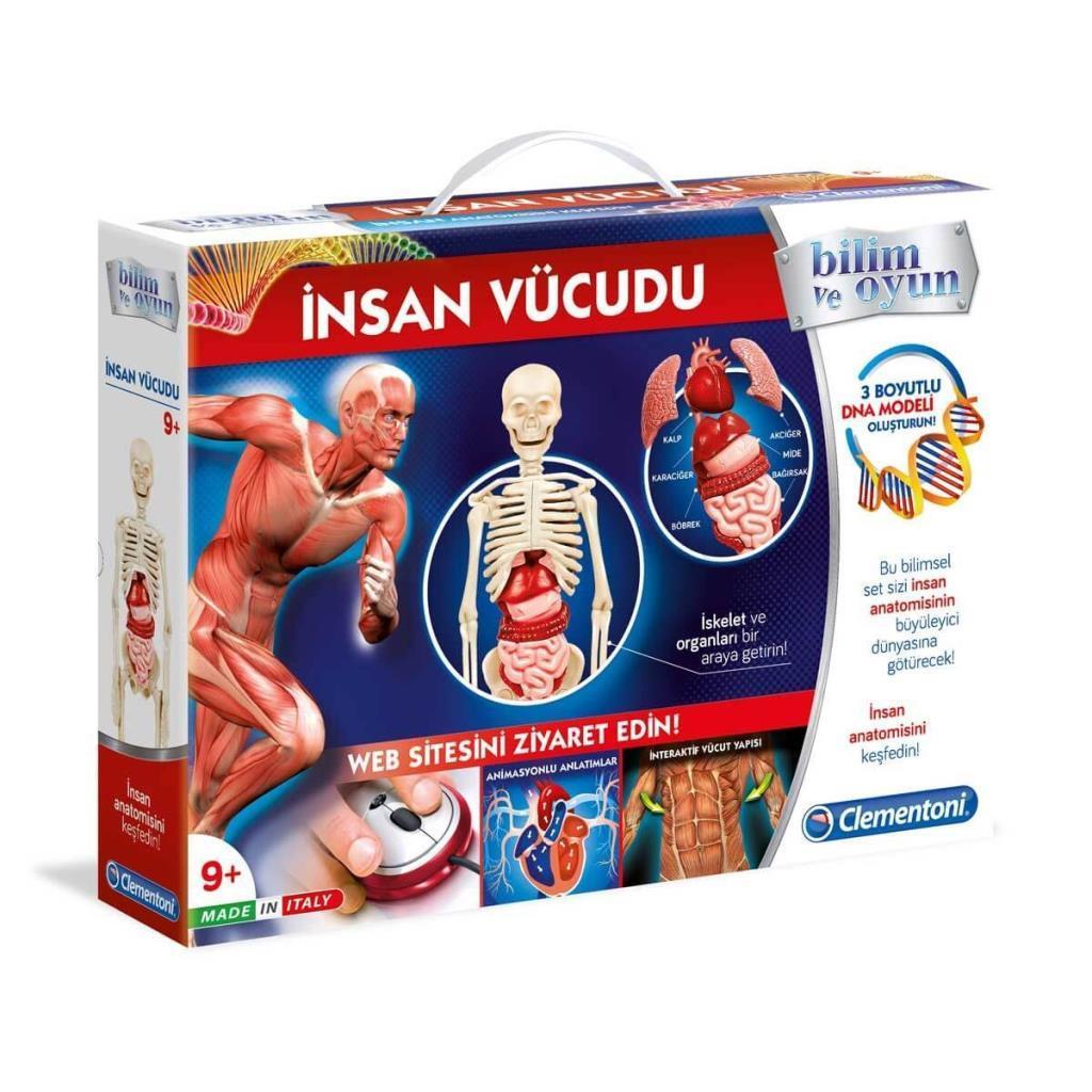 64457 Bilim ve Oyun - İnsan Vücudu ve Anatomi /+9 yaş