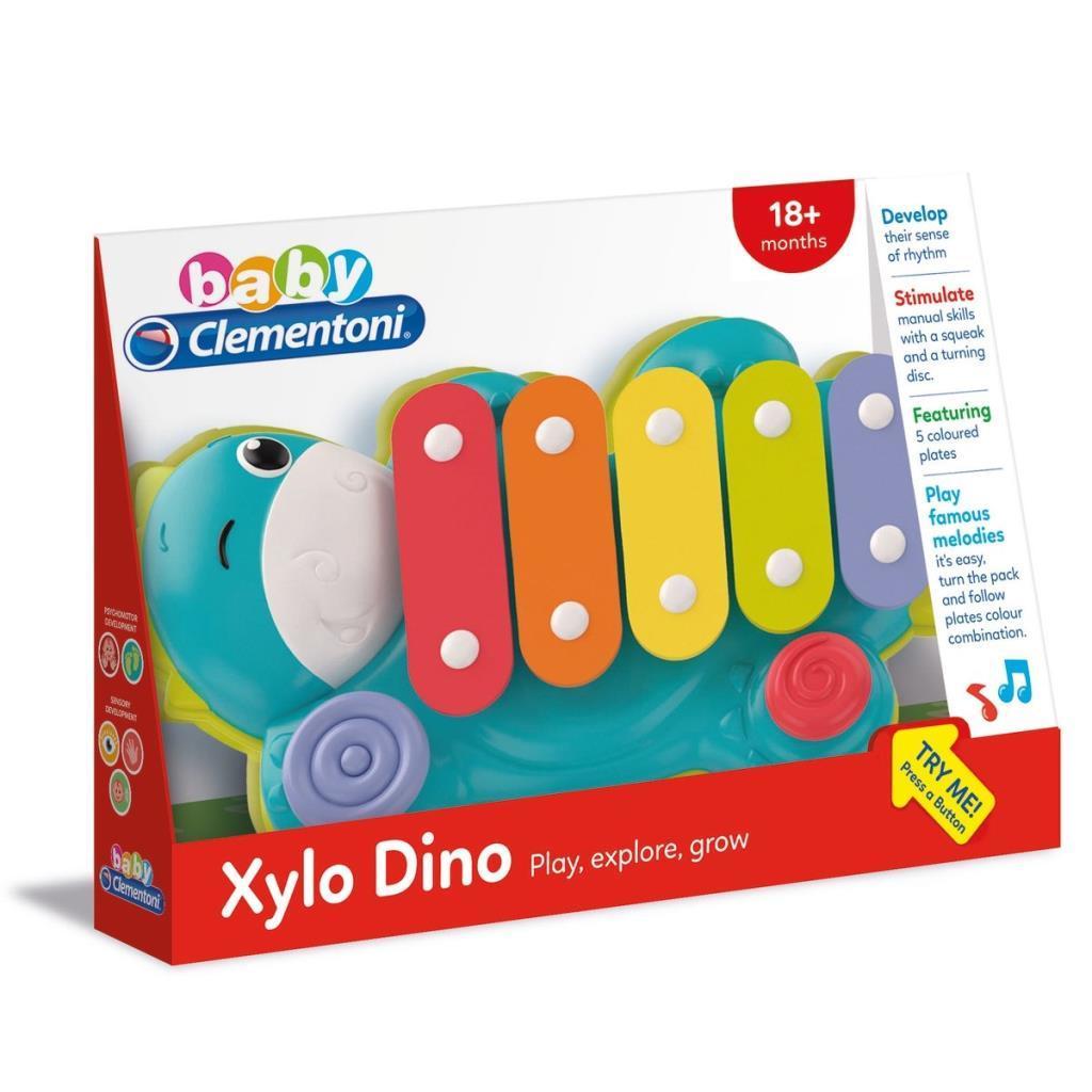 17263 Baby Clementoni Dinozor Ksilofon / +18 ay