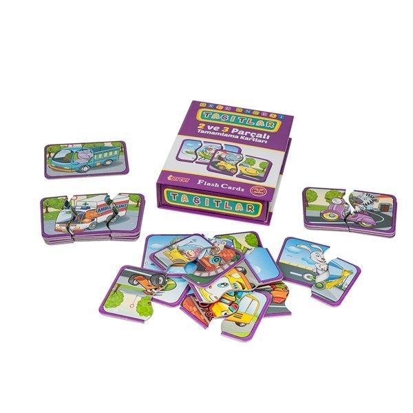 7192 DıyToy, Flash Cards - Taşıtlar / +18 ay