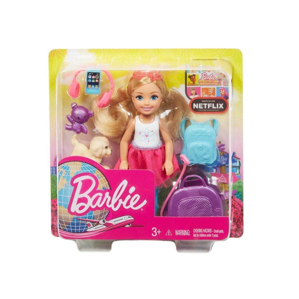 FWV20 Chelsea Seyahatte ve Aksesuarları /Barbie Seyahat