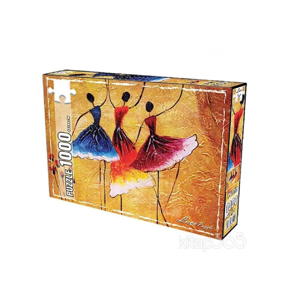 LC7265 Utku, İspanyol Dansı 1000 Parça Puzzle