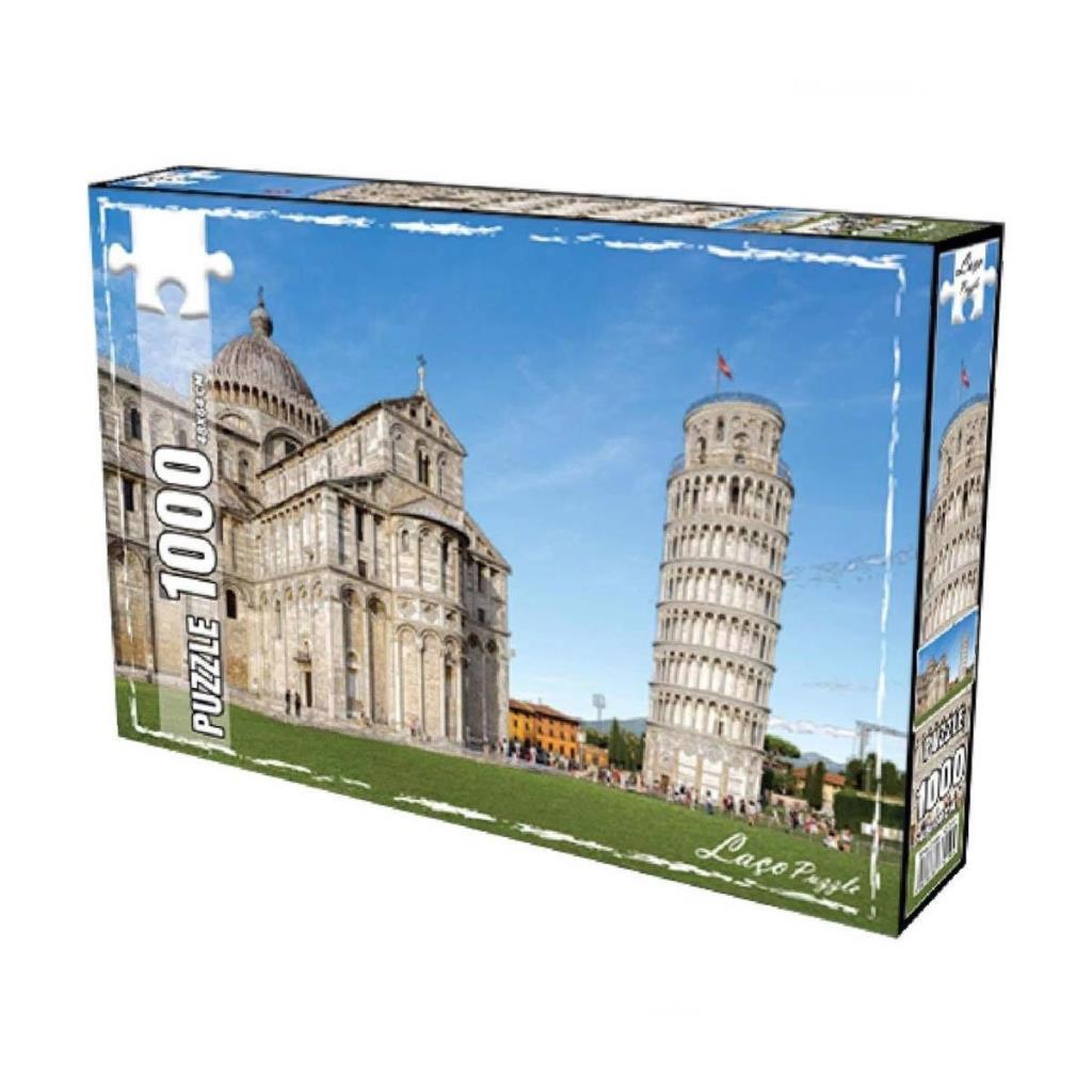 LC7279 Utku, Pisa Kulesi 1000 Parça Puzzle