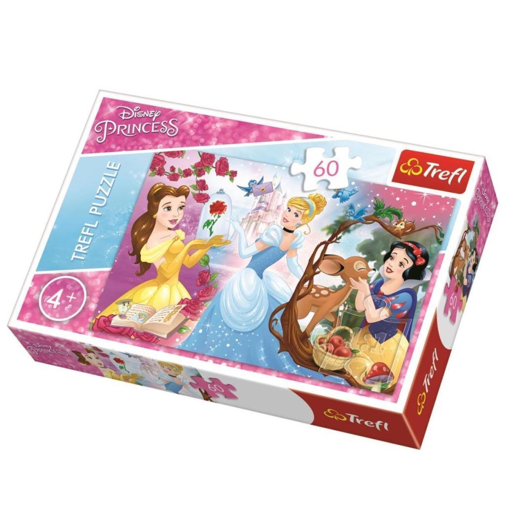 17315 Trefl Puzzle Princess Invitation To the Ball 60 Parça Puzzle