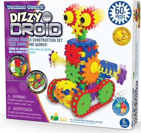 Stem Serisi / Dizzy Droid 60 Parça