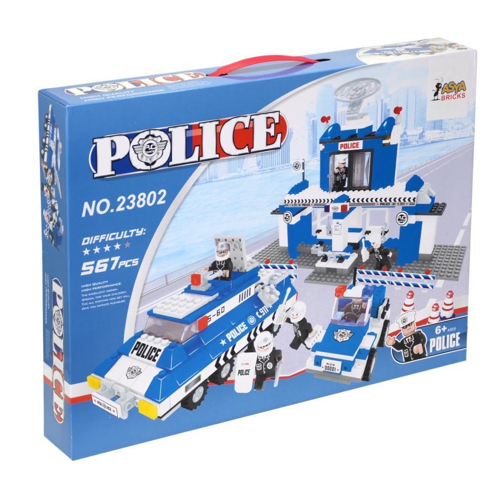 Asya Bricks Polis Blok Seti