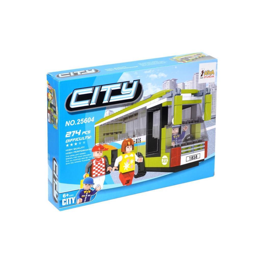 Asya Bricks City Blok Seti
