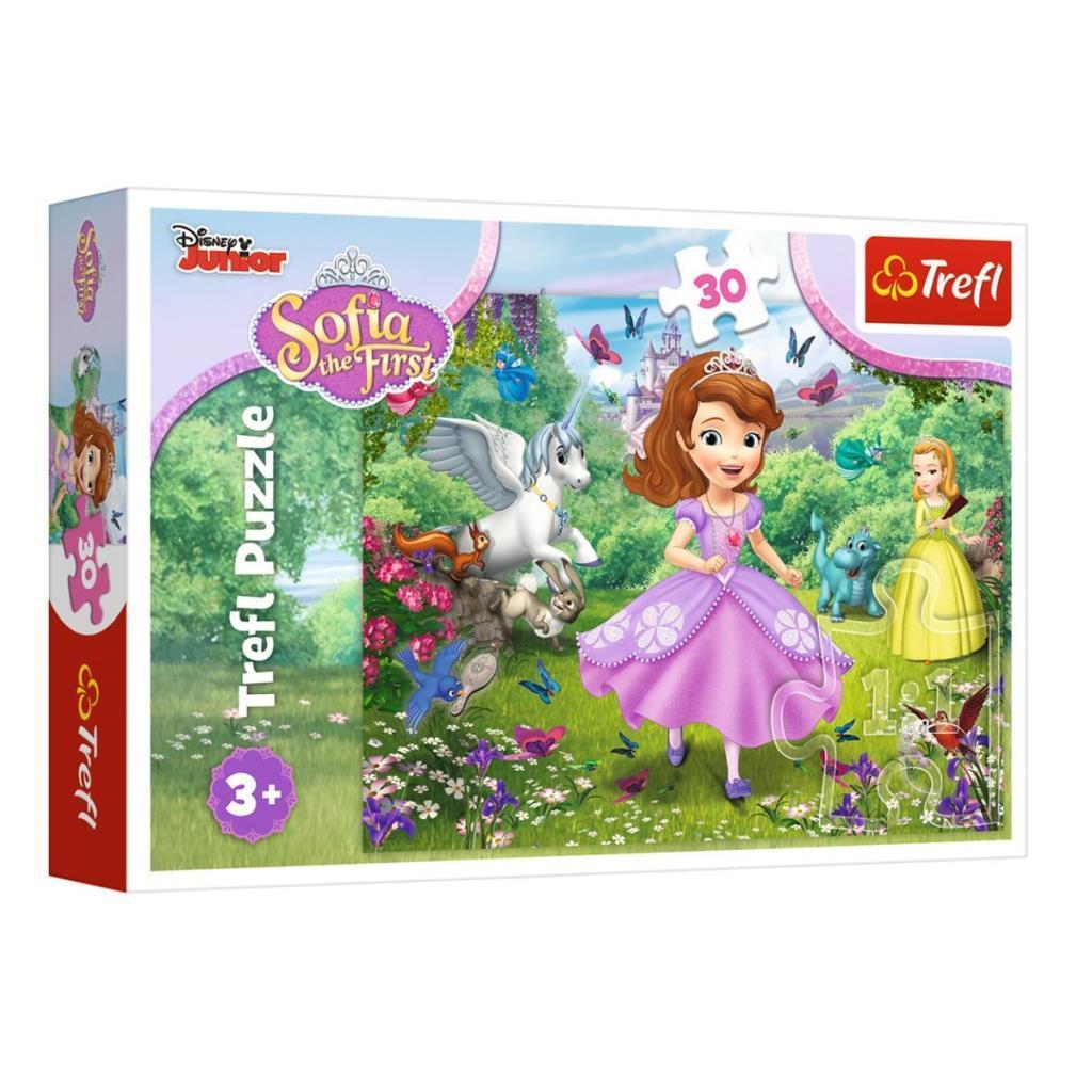 18252 Trefl Puzzle Sofia in The Garden 30 Parça Puzzle