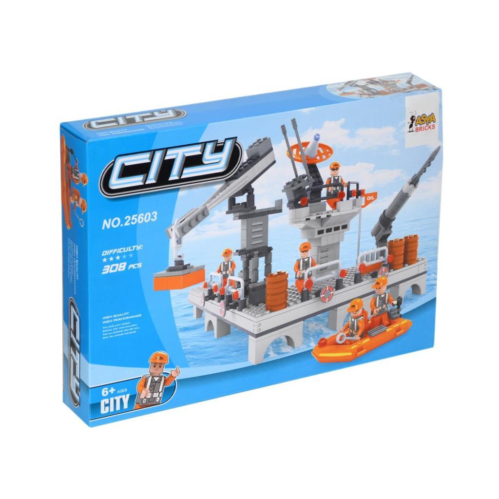 Asya Bricks City Blok Seti / 308 Parça