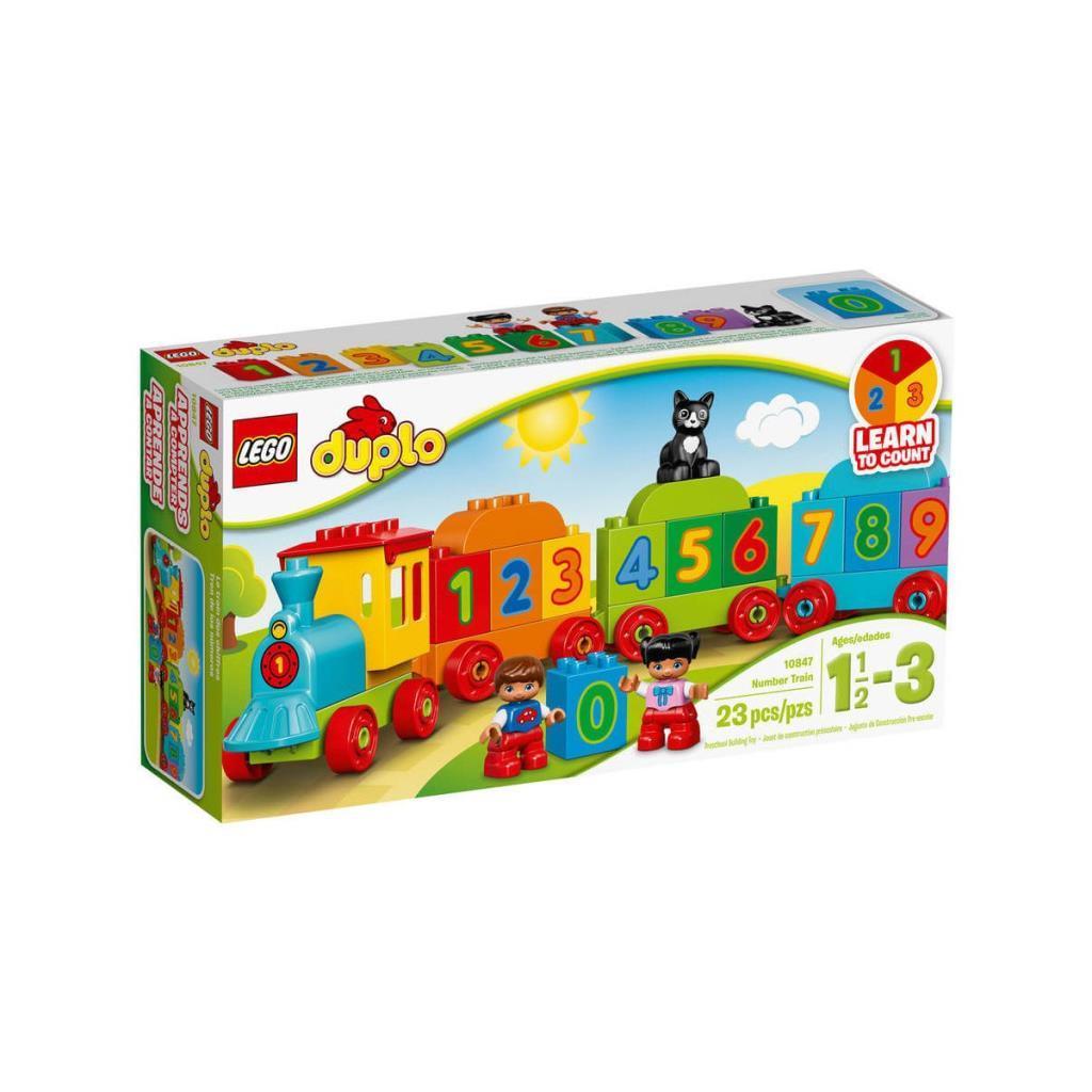 10847 LEGO® Duplo® Sayı Treni / 23 parça / 1,5-3 yaş