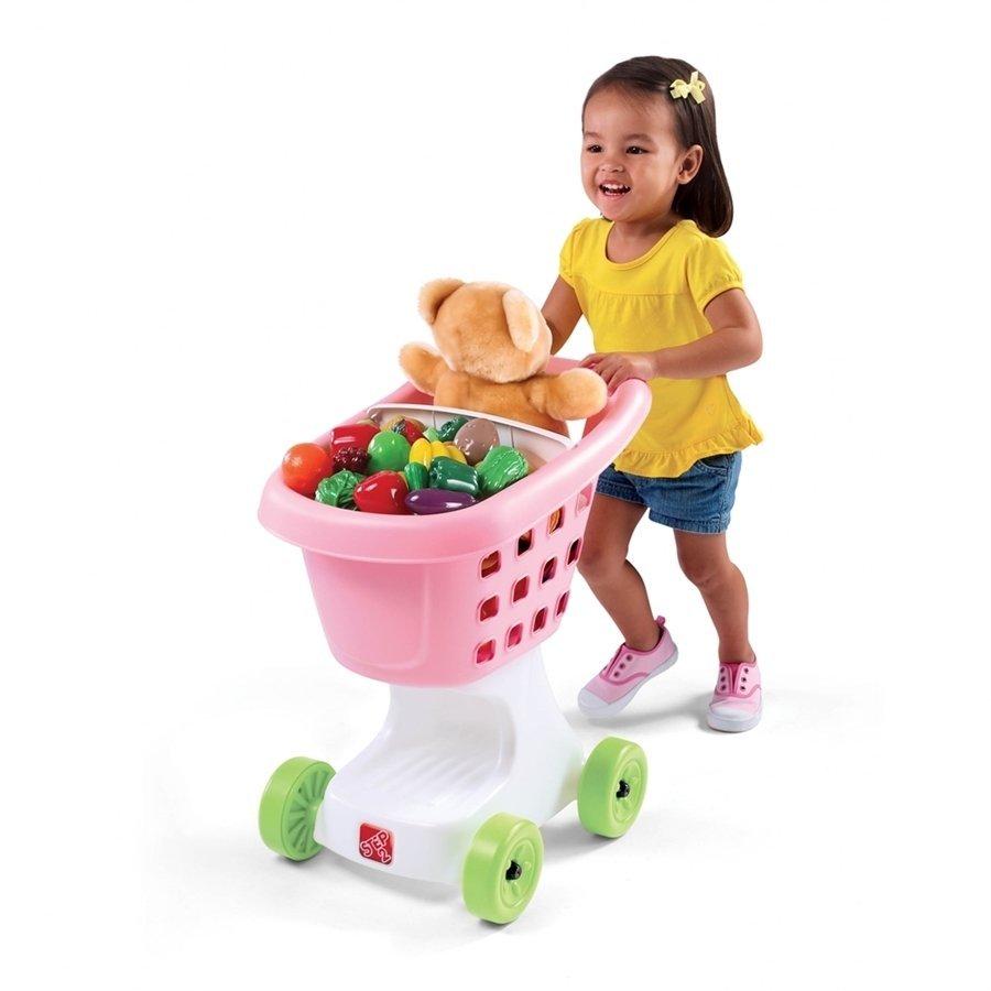 Step2 Pembe Alışveriş Arabası