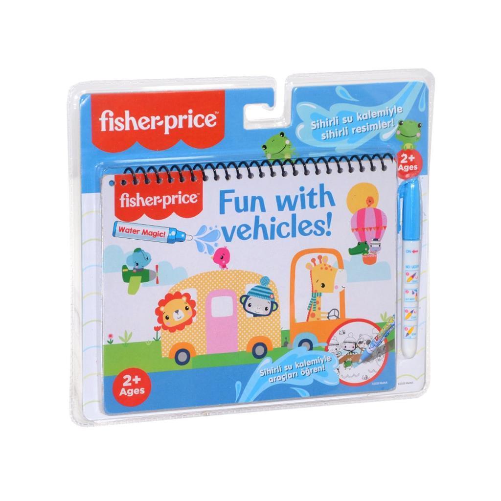 ST00379 Gepet, Fisher Price Sihirli Boyama Kitabı