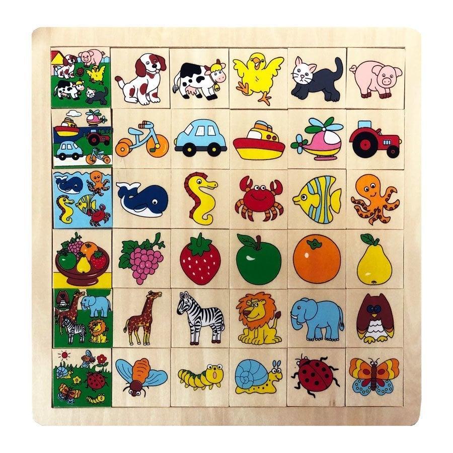 Eşleştirme Hayvanlar Puzzle