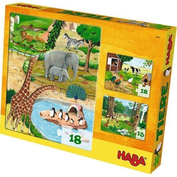 Hayvanlar Puzzle