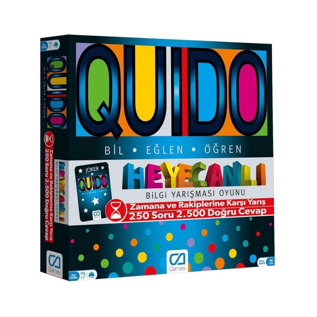 CA Games - Quido - Bilgi Yarışması Oyunu