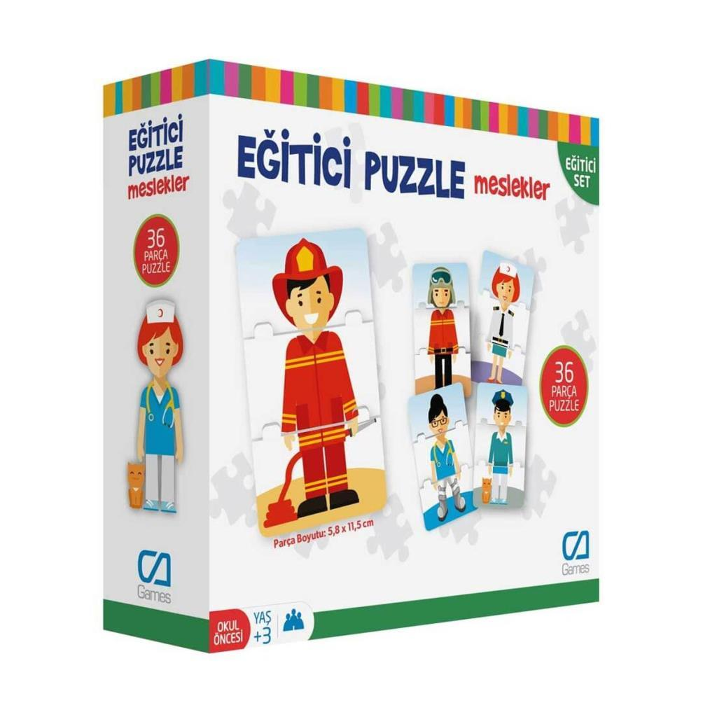 CA Games - Eğitici Puzzle Meslekler