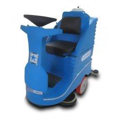 B 9001 Binicili Zemin Temizleme Makinası