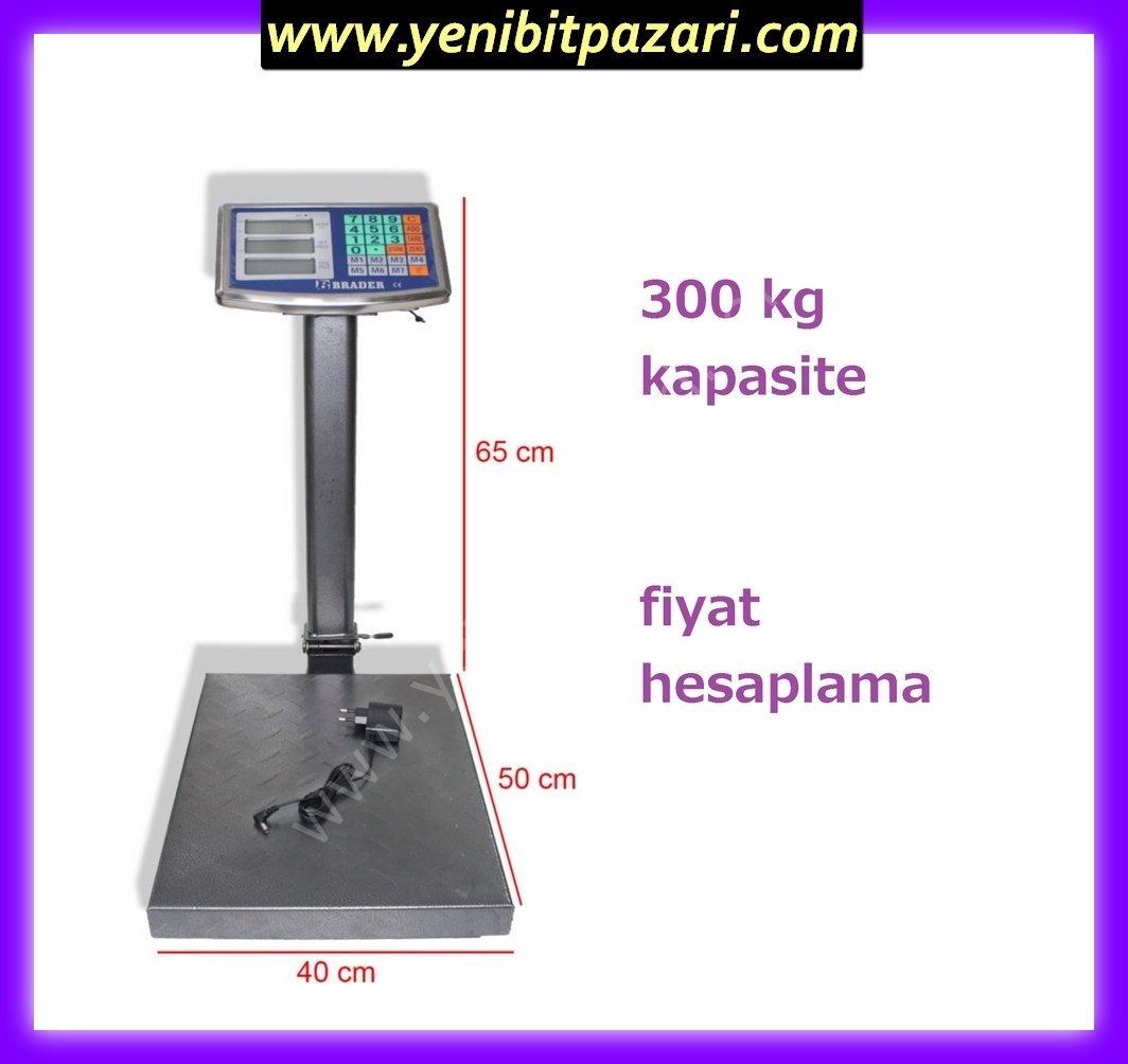 https www yenibitpazari com urun brader 300 kg elektronik terazi 40cm x 50cm 300kg li boyunlu terazisi 2 gr hassasiyet fiyat hesaplama kantar baskul tarti toptan onaysiz cin mali