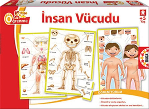 Educa Insan Vücudu Yapbozu Kidolina