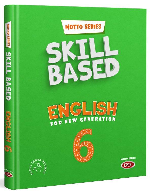 Data Yayınları Motto Series Skill Based English 6