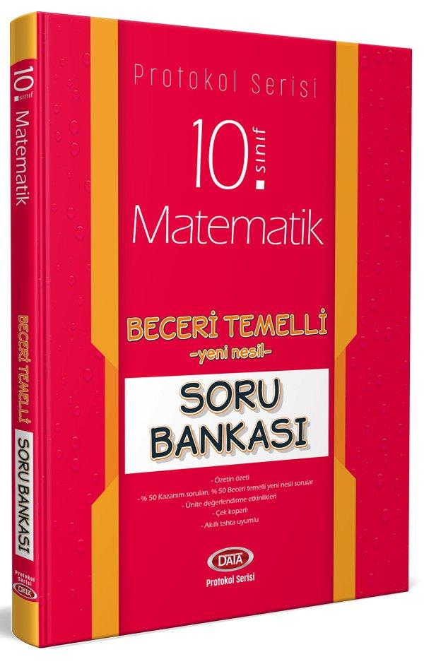 Data Yayınları 10. Sınıf Matematik Beceri Temelli Soru Bankası (Protokol Serisi)