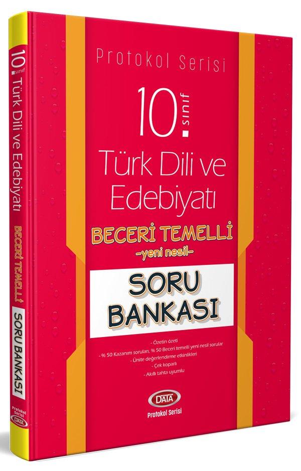 Data Yayınları 10. Sınıf Türk Dili ve Edebiyatı Beceri Temelli Soru Bankası (Protokol Serisi)