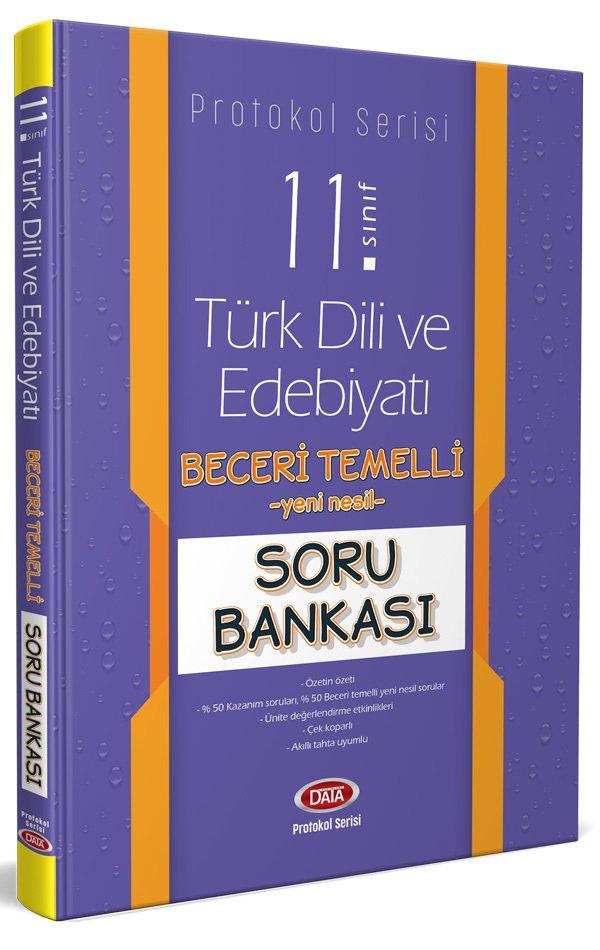 Data Yayınları 11. Sınıf Türk Dili ve Edebiyatı Beceri Temelli Soru Bankası (Protokol Serisi)