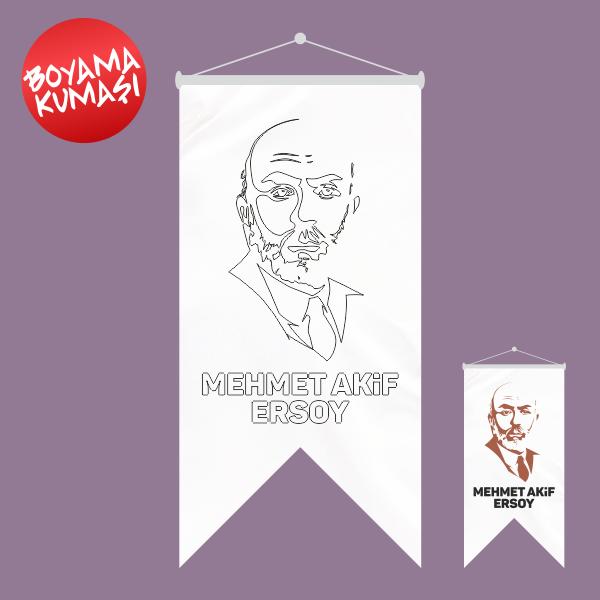Mehmet Akif Ersoy Kirlangic Boyama Kumasi 50x70 Cm Olculeri Ve