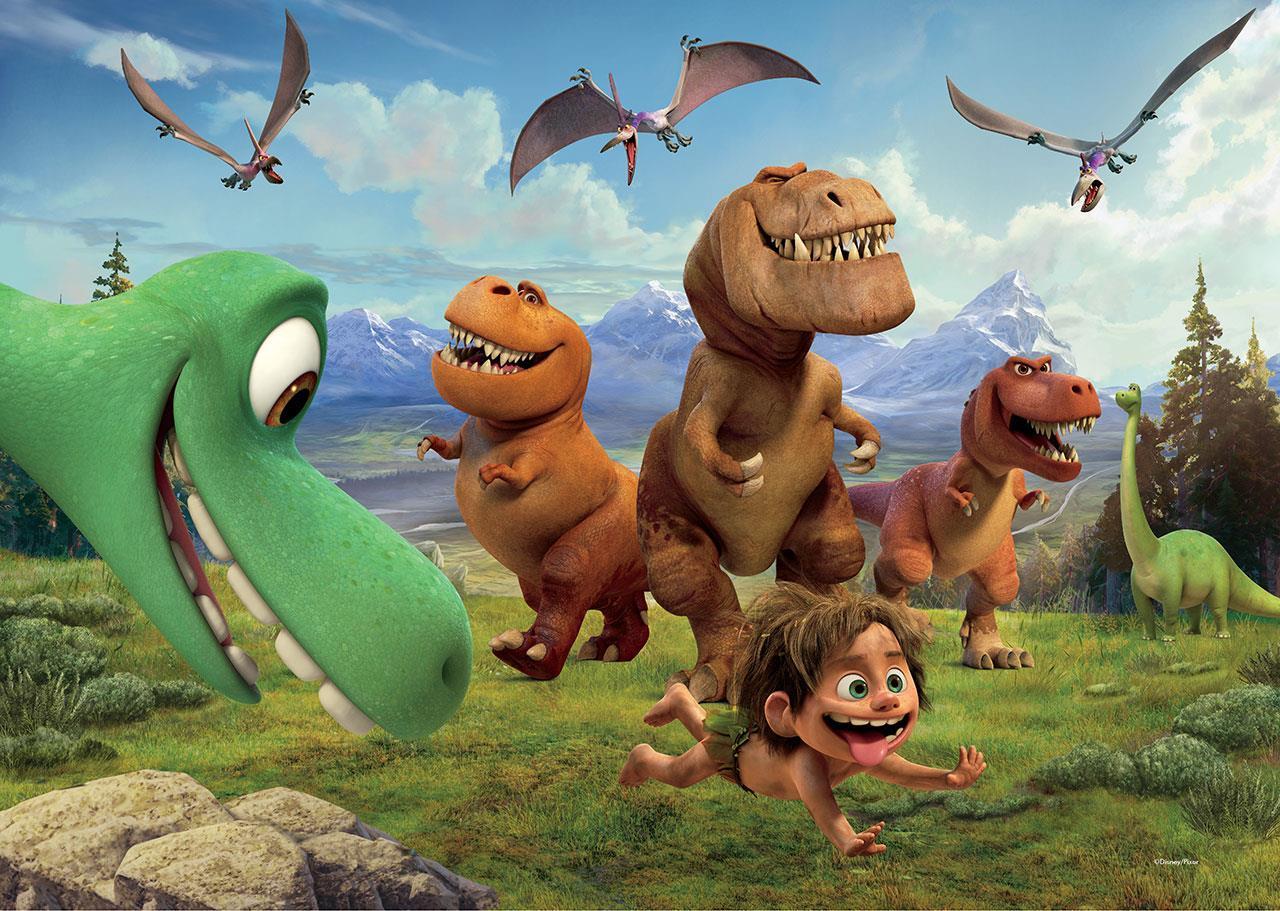 картинки героев хороший динозавр тесный