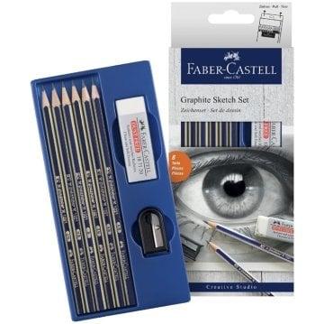 Faber Castell Goldfaber Dereceli Kalem Seti 8 Parça