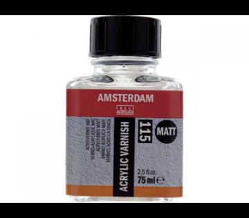 Talens Amsterdam Acrylic Varnish Matt 115 Mat Akrilik Boya Verniği 75 ml