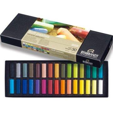 Talens Rembrandt Soft Pastel Boya Yarım Boy 30 Renk