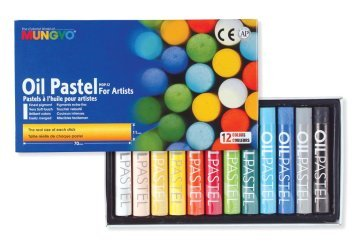 Mungyo Yağlı Pastel Oil Pastel 12 Renk