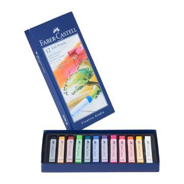Faber Castell Creative Studio Toz (Soft) Pastel Boya 12 Renk Tam Boy